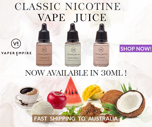 Classic Vape Juice in 30ml From Vaper Empire