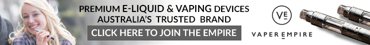 Vaper Empire - Australia's Trusted Vaper Brand
